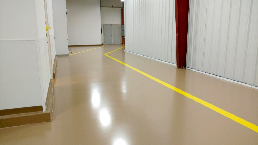 High build Epoxy Floor
