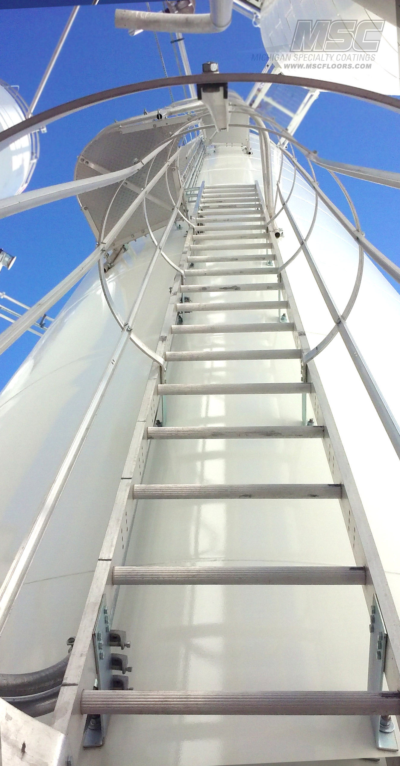 Polyamide Maintenance Coating for corn silo