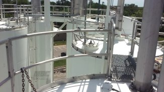 Polyamide Maintenance Coating for corn silo