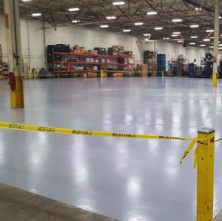 High Traffic Urethane Flooring System