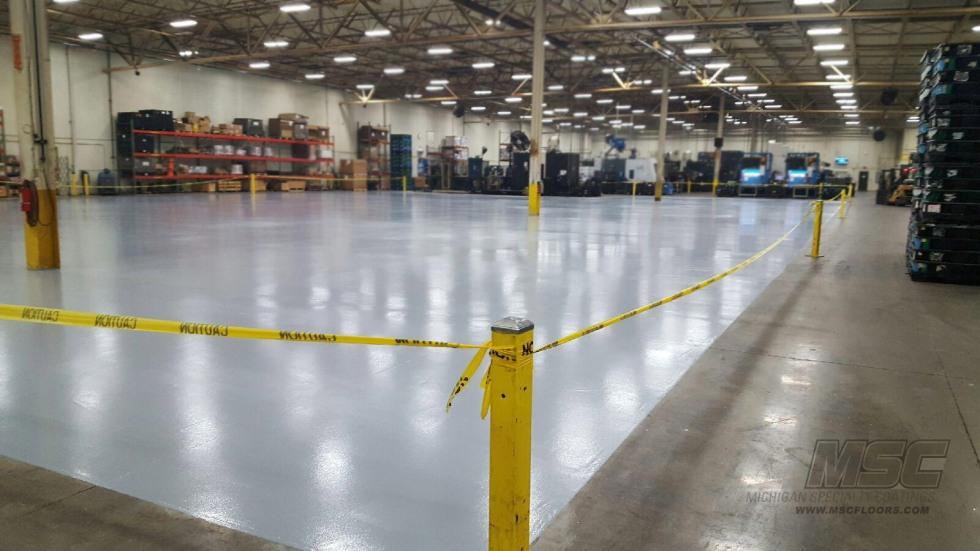 High Traffic Urethane Flooring System