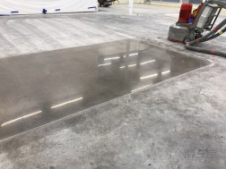 Polish Concrete Flooring installation process in Michigan