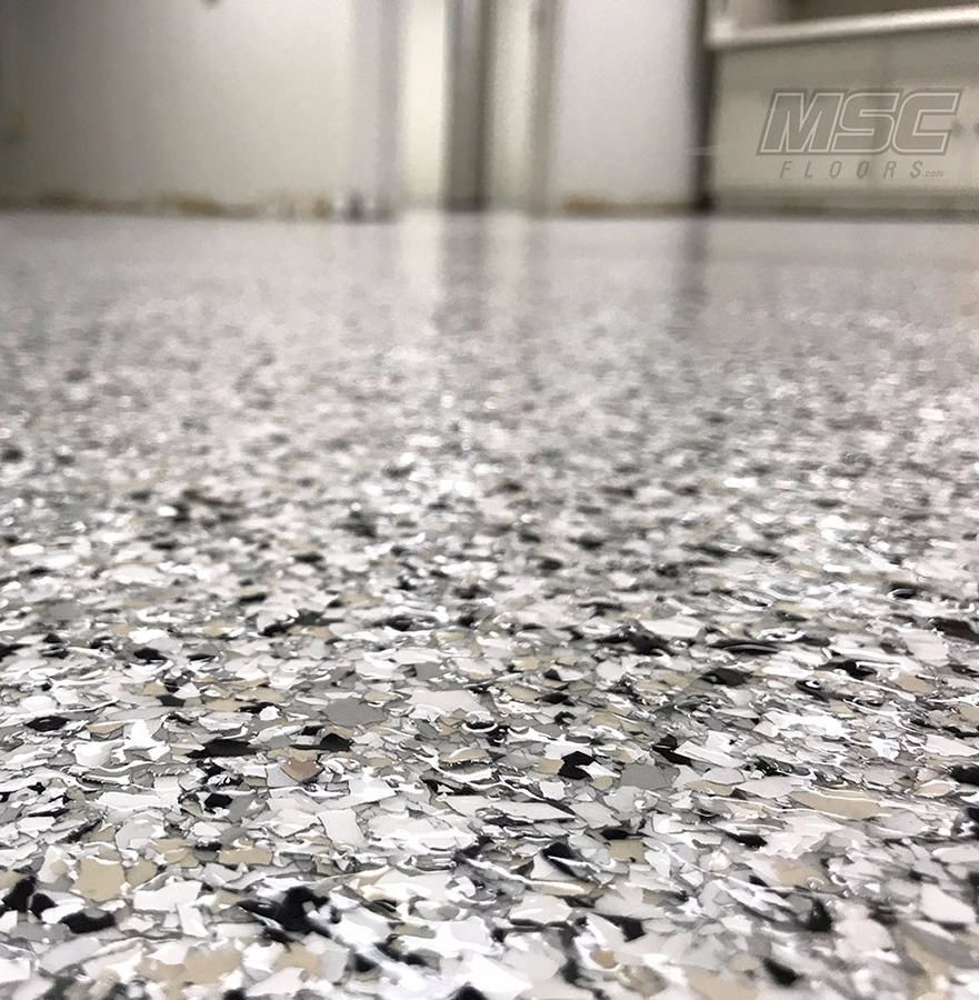 Full Flake Epoxy Flooring