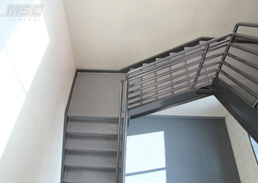 Quartz-Broadcast-Stairwell-and-Walls